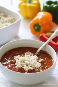 Skinnytaste: Stuffed Pepper Soup
